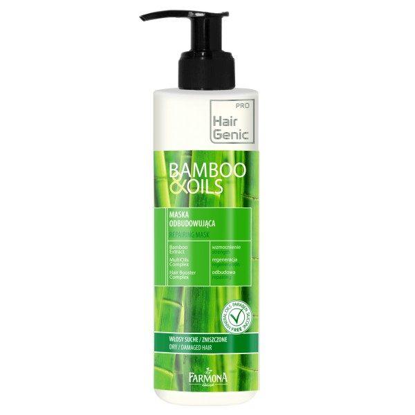 "Masca reconstructoare ""Bamboo & Oils"" Hair Genic"