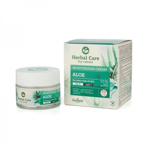 Crema hidratanta de zi/noapte toate tipurile de ten HERBAL CARE
