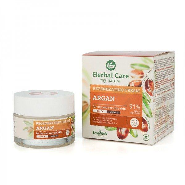 Crema de fata nutritiva cu Ulei de Argan HERBAL CARE