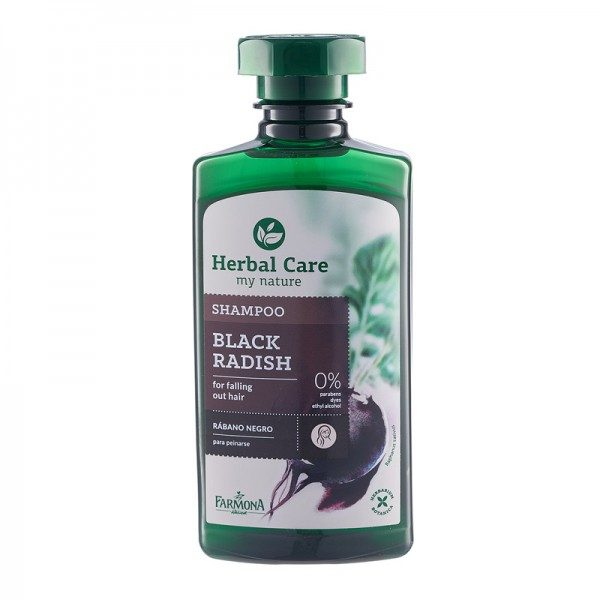 Sampon cu extract de Ridiche neagra Herbal Care