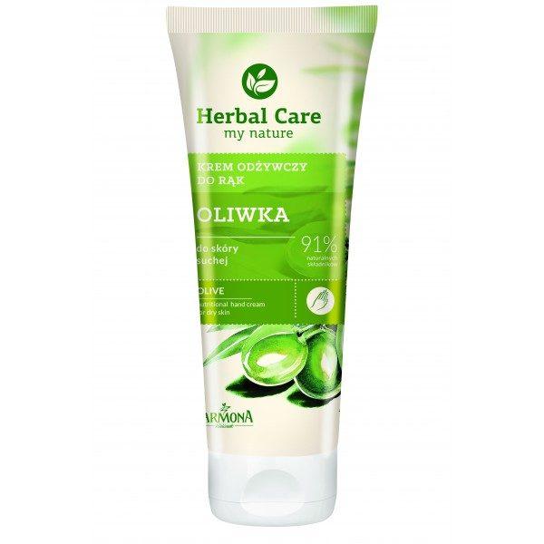 Crema hidratanta pentru maini si unghii cu extract de Masline - Herbal Care
