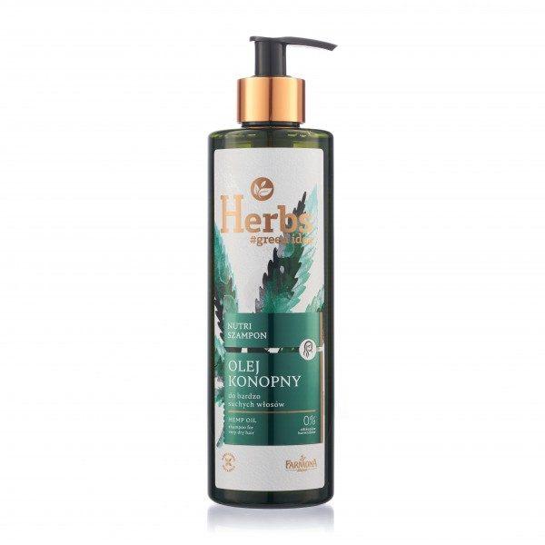 Șampon nutritiv cu ULEI DE CÂNEPĂ Herbs