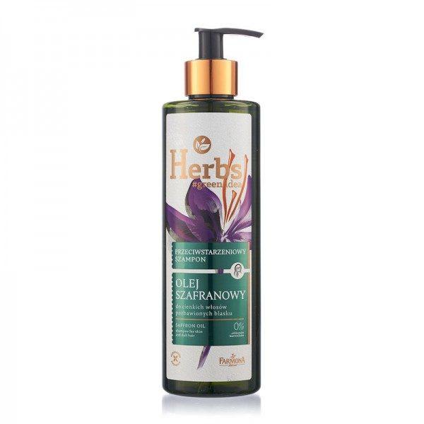 Șampon anti-îmbătrânire cu ULEI DE ȘOFRAN
