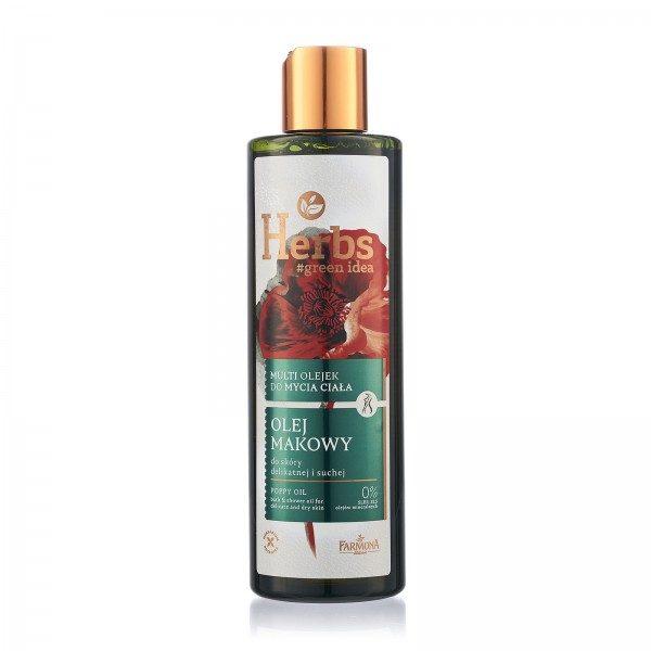 Multi ulei de baie și duș ULEI DE MAC Herbs