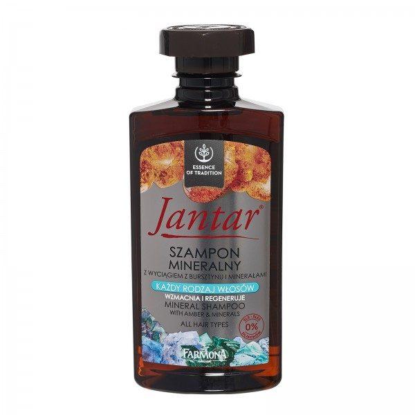 Șampon mineral cu extract de CHIHLIMBAR Jantar