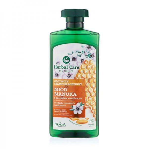 Șampon FAMILY MIERE MANUKA Herbal Care