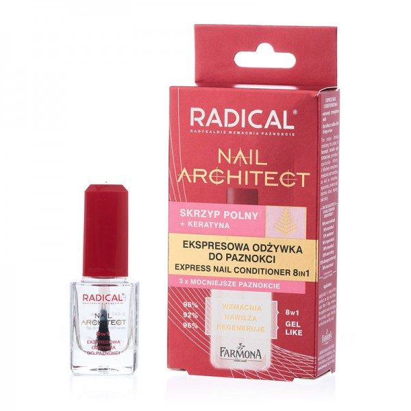 Tratament rapid 8 în 1 pentru unghii Radical Nail Architect