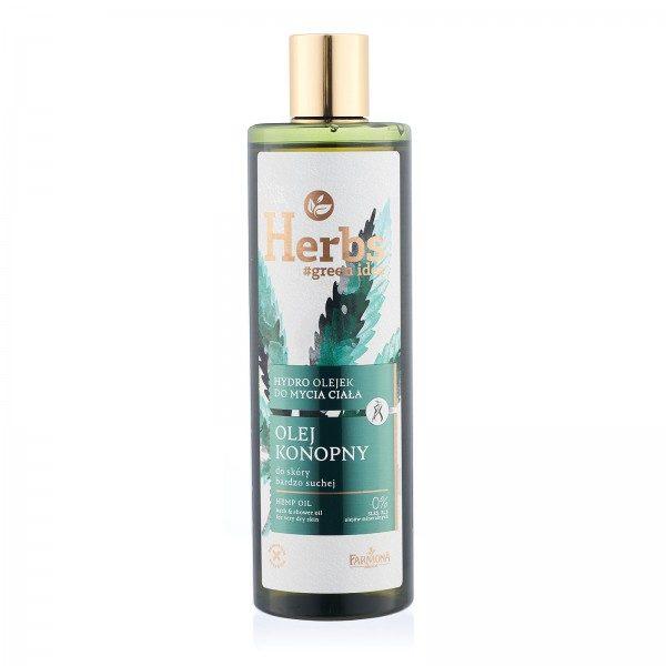 Hidro ulei de baie și duș ULEI DE CÂNEPĂ Herbs